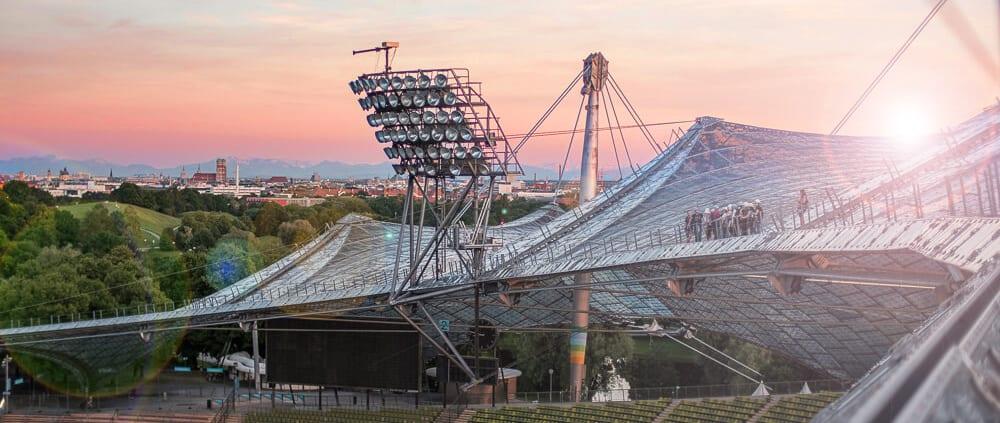Zeltdachtourim Olympiastadion München