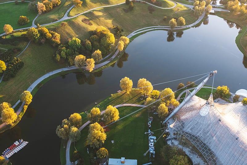 Wassersport im Olympiapark München_